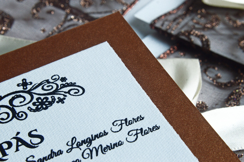 Invitaciones de Boda | Wedding invitations ! Close Up 2